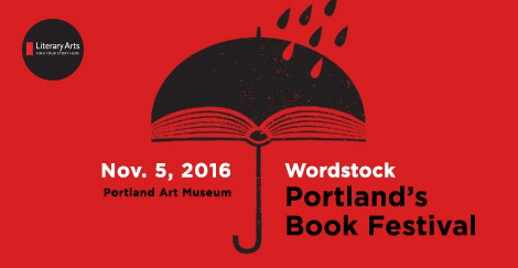 Wordstock: Portland's Book Festival, November 5, 2016, logo