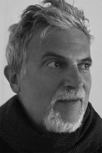Black and white photo of Kevin Dann