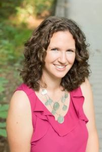 Photo of Kris Spisak smiling