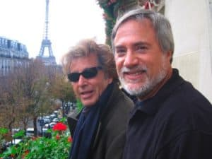Photo of Al Pacino and Lawrence Grobel