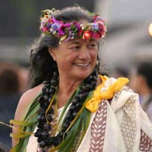 Kumu Sabra Kauka, who will open Kauai Writers Festival