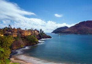 Kalapaki Beach, location of Kauai Writers Conference